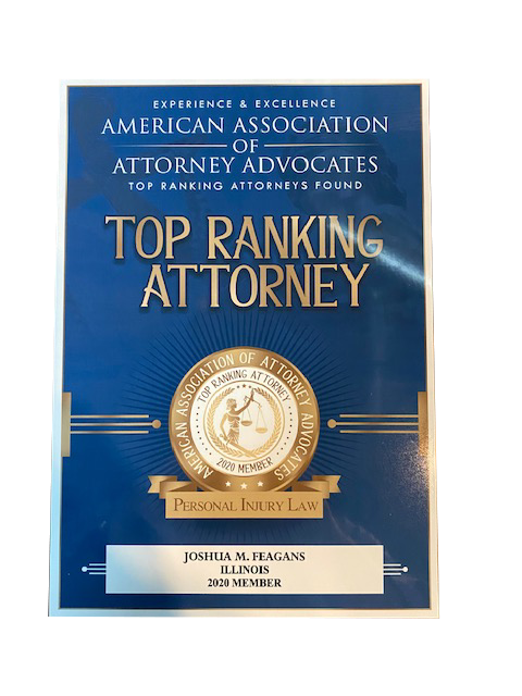 Joshua Feagans of Feagans Law Group is a Top Ranking Attorney for Personal Injury